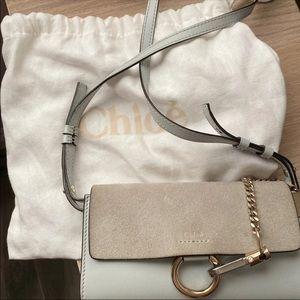 Chloe mini Faye wallet on chain